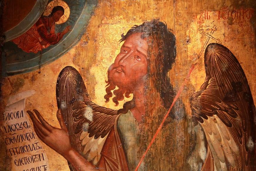 აღთქმის ანგელოზი - იოანე ნათლისმცემელი