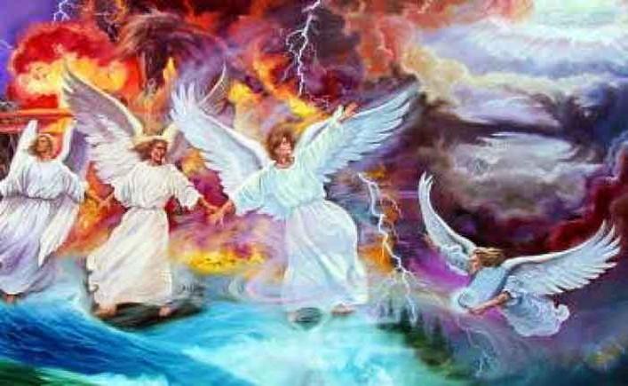 ანგელოზები არიან ძალაუფლების, ხელმწიფების მქონენი ადამიანთა მიმართ