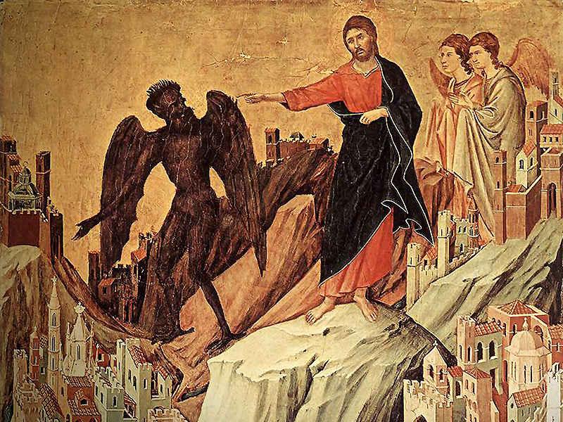 ანგელოზები ემსახურებიან ქრისტეს