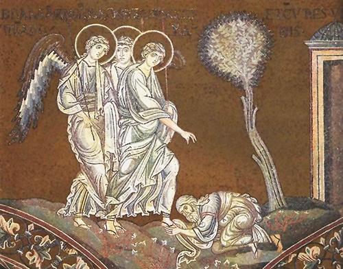 არ იცოდნენ, ისე ისტუმრეს, უმასპინძლეს ანგელოზებს