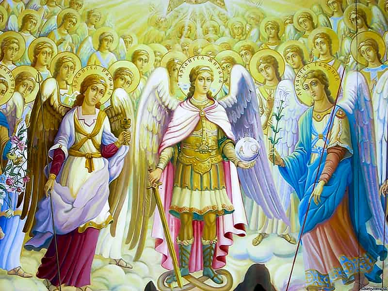 აწ ეკლესიის მეშვეობით ეუწყოს ანგელოზთ ღვთის სიბრძნე
