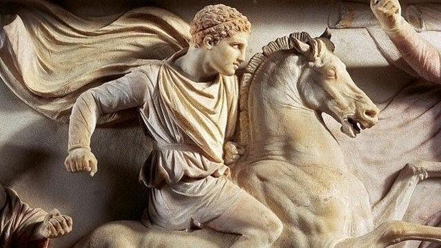 ბიბლია ალექსანდრე მაკედონელის შესახებ