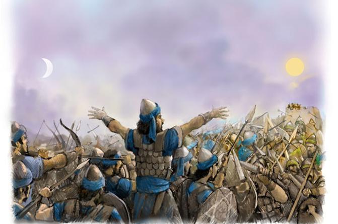 ბრძოლა აღთქმულის მისაღებად