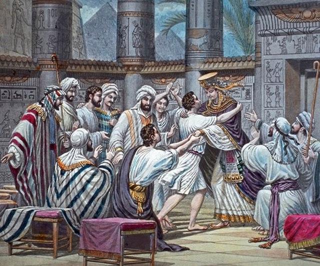 ეგვიპტელნი სიბილწედ რაცხდნენ ღვთის ხალხთან ურთიერთობას