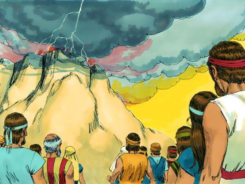 განწმედილი სამოსელით წარდგომა უფლის წინაშე