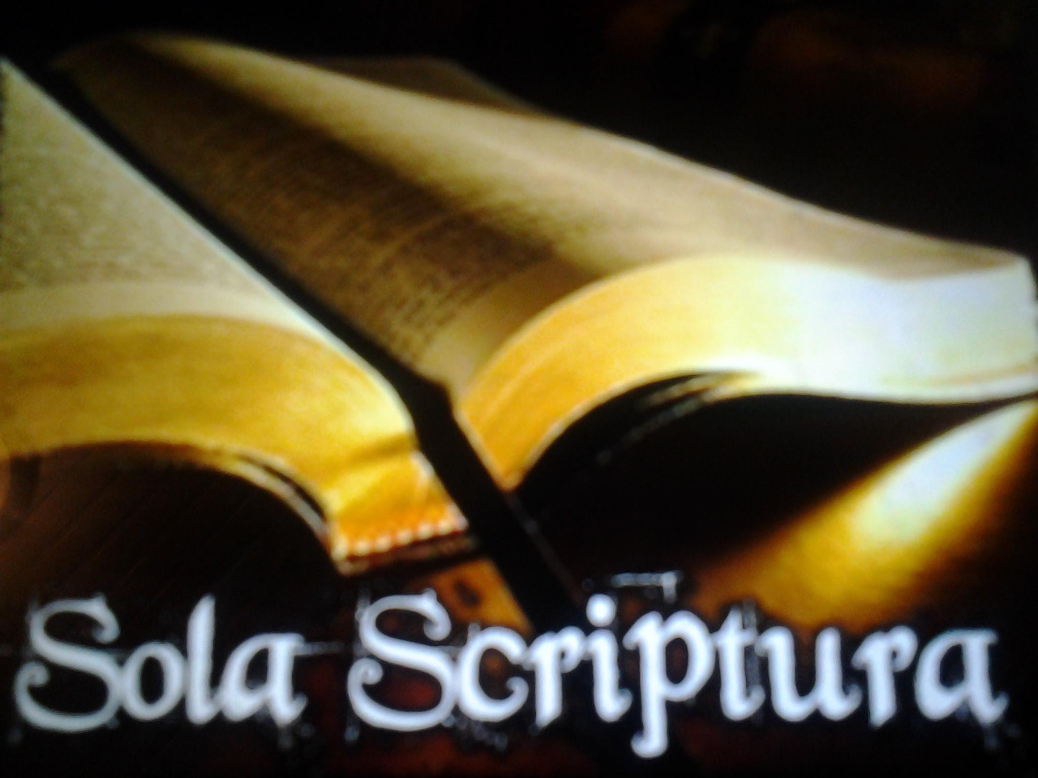 ღმერთი წყაროა წმ. წერილის გაგების. ბიბლია განმარტავს თავის თავს