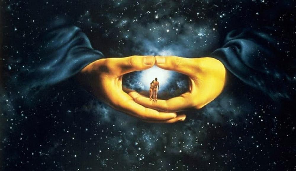 ღმერთმა შექნა ცა და მიწა