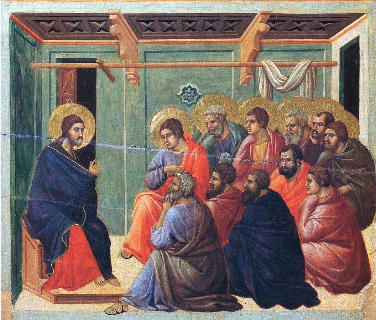 იესო ქრისტემ სული წმიდით მისცა მცნებები მოციქულებს