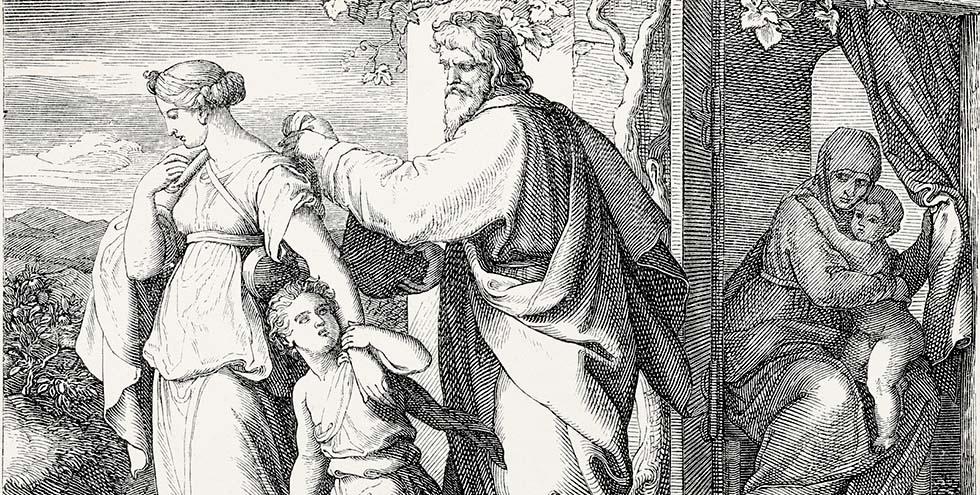 ისმაელიანებს აბრაამის შვილობა ვერ იხსნის, არამედ რწმენა ქრისტესი