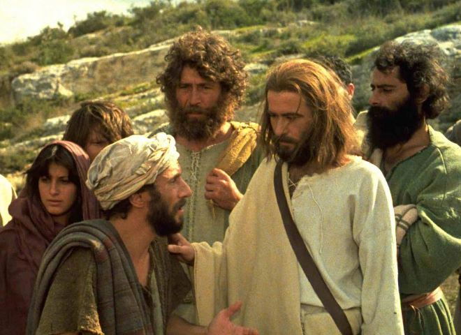 კვერთხი ღვთის სიმართლისა - იესო ქრისტე