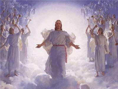 მეორედ მოსვლისას მოვლენ უფალთან ერთად ანგელოზები