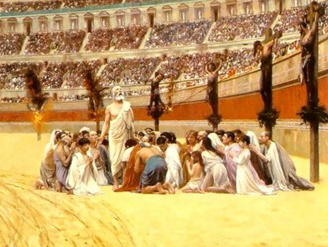 წმიდანები 200-300 წლებში