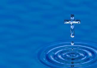 წყალში დაფლვა თუ წყლის პკურება (სხურება, დასხმა)
